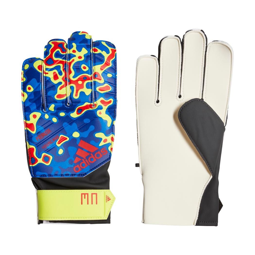 good texture many styles sale uk adidas Predator Pro Manuel Neuer Kinder Torwarthandschuhe blau / rot / gelb