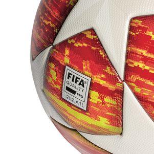 adidas Champions League Finale Madrid Spielball OMB Matchball rot / weiß – Bild 5