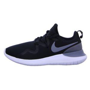 Nike Tessen Sneaker Freizeitschuh schwarz