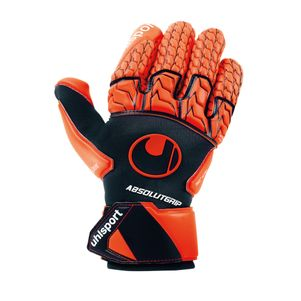 Uhlsport Next Level AbsolutGrip Reflex Torwarthandschuhe dunkelblau / orange