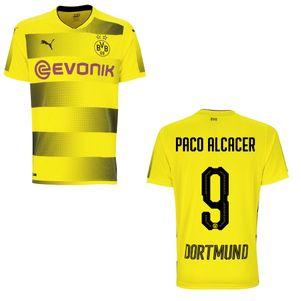 Puma BVB Borussia Dortmund Heimtrikot 2017/2018 gelb mit Flock – Bild 2