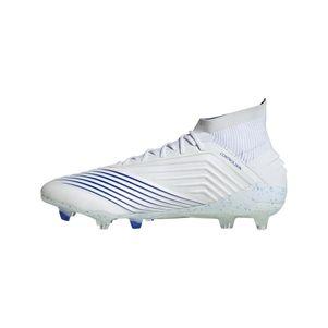 adidas Predator 19.1 FG weiß / blau / weiß – Bild 2