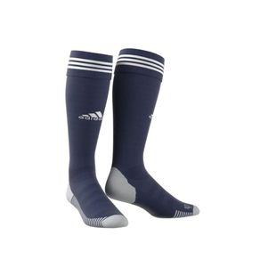 adidas Adisock 18 3 Streifen Stutzenstrumpf dunkelblau / weiß – Bild 2