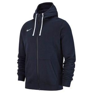 Nike Club 19 Full Zip Hoodie Jacke dunkelblau – Bild 1