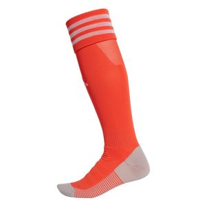 adidas Adisock 18 3 Streifen Stutzenstrumpf orange / weiß – Bild 1