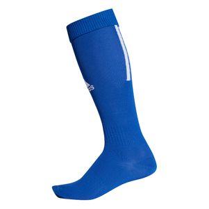 adidas Santos 18 3 Streifen Stutzenstrumpf blau – Bild 1