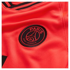 Nike Kinder Paris Saint Germain Stadium Away Trikot 2019/2020 orange – Bild 3