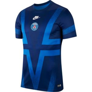 Nike Dri-FIT Paris Saint Germain Trainingsshirt T-Shirt blau – Bild 1