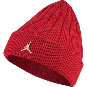 Nike Jordan Beenie Mütze rot – Bild 1