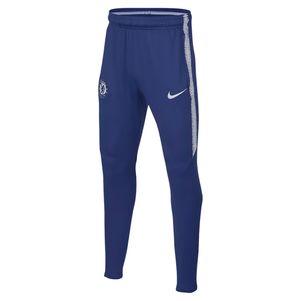 Nike Kinder FC Chelsea Trainingshose Dri-FIT Squad blau