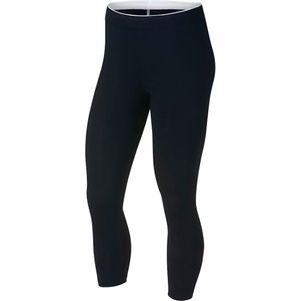 Nike Damen Sportswear Crop Club Futura 3/4 Leggings schwarz