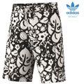 adidas HAWAII SWIM SHORT Badehose schwarz / weiß