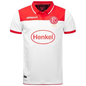uhlsport Fortuna Düsseldorf F95 Heimtrikot KA 19/20 weiß/rot – Bild 2