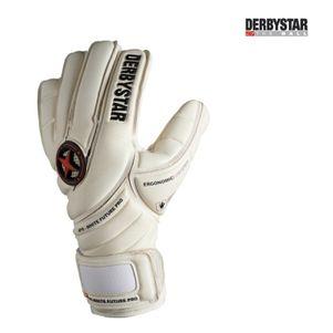 Derbystar Torwarthandschuhe APS White Future Pro Innennaht u. Bandage