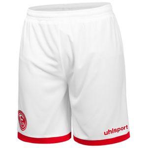 uhlsport Fortuna Düsseldorf F95 Heimshorts 19/20 weiß/rot – Bild 1