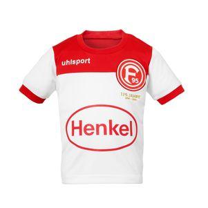 uhlsport Mini-Kit Fortuna Düsseldorf F95 Heimtrikot 19/20 weiß / rot – Bild 1