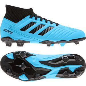 adidas Kinder Predator 19.3 FG blau / schwarz – Bild 5