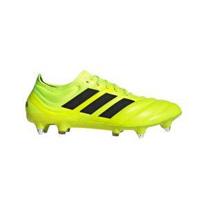 adidas Copa 19.1 SG Fußballschuhe Schraubstollen Leder gelb – Bild 1