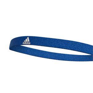 adidas Haarband 3er Pack orange / blau / grau – Bild 4
