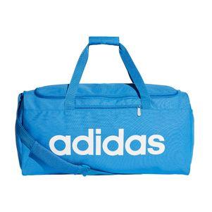 adidas Linear Core Sporttasche Duffelbag Gr. M hellblau – Bild 1