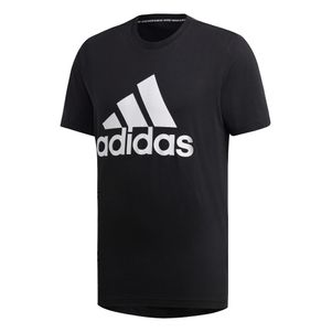 adidas Must Have Badges of Sport T-Shirt schwarz / weiß – Bild 1
