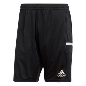 adidas Team19 3Pocket Shorts mit Reißverschluss schwarz – Bild 1