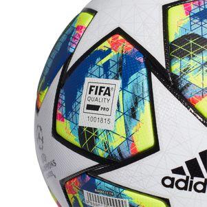 adidas Champions League Finale OMB offizieller Spielball weiß / blau Größe 5 – Bild 3