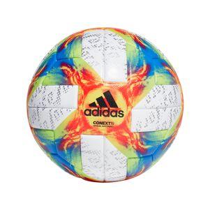 adidas Conext 19 Offizieller Spielball weiß / gelb / rot / blau Größe 5 – Bild 1