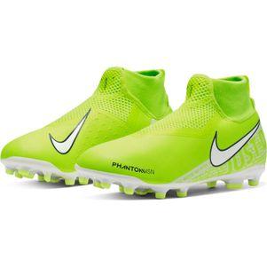Nike Kinder Phantom Vision Academy DF FG/MG gelb – Bild 3