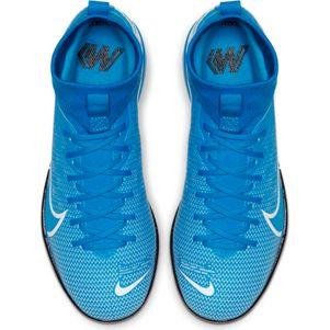 Nike Kinder Mercurial Superfly 7 Academy IC blau – Bild 4