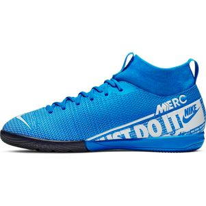 Nike Kinder Mercurial Superfly 7 Academy IC blau – Bild 2
