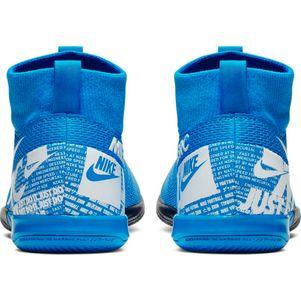 Nike Kinder Mercurial Superfly 7 Academy IC blau – Bild 5