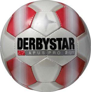 Derbystar Apus Pro S-Light 290 Gramm Jugend Fußball  weiß / rot