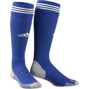 adidas Adisock 18 3 Streifen Stutzenstrumpf blau / weiß – Bild 2