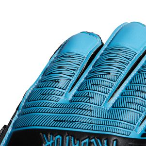 adidas Kinder Predator Top Training Fingersave Torwarthandschuhe blau – Bild 2