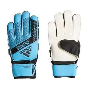 adidas Kinder Predator Top Training Fingersave Torwarthandschuhe blau – Bild 1