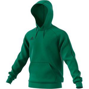 adidas Core 18 Hoodie Kapuzenpullover grün – Bild 1