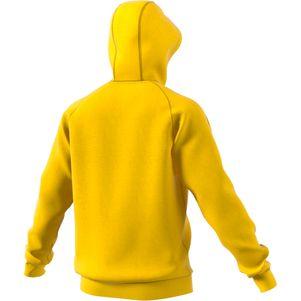 adidas Core 18 Hoodie Kapuzenpullover gelb – Bild 2
