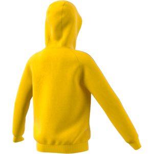 adidas Kinder Core 18 Hoodie Kapuzenpullover gelb – Bild 3