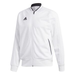 adidas Condivo 18 Polyester Jacke Sportjacke weiß – Bild 1