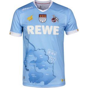 uhlsport 1.FC Köln Torwart Fastelovend Karnevalstrikot 2019/2020 blau