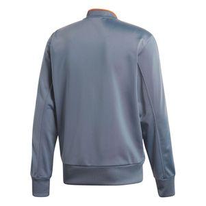 adidas Condivo 18 Polyester Jacke Sportjacke grau / orange – Bild 2