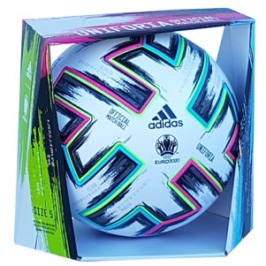 adidas Euro 2020 Uniforia Pro EM Spielball Fußball weiß