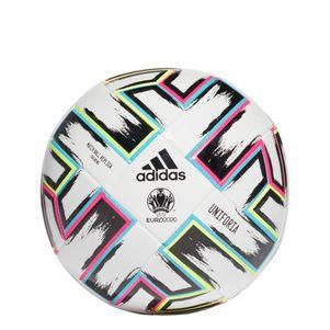adidas Euro 2020 Uniforia Trainingsball weiß – Bild 1