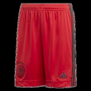 adidas Kinder DFB Home Torwart Shorts EM 2020 rot – Bild 1