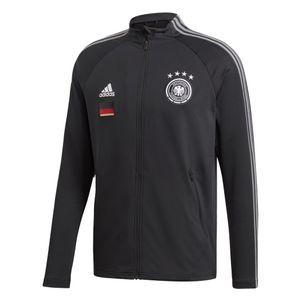 adidas DFB Präsentationsjacke Deutschland EM 2020 schwarz – Bild 1