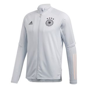 adidas DFB Trainingsjacke Deutschland EM 2020 weiß – Bild 1