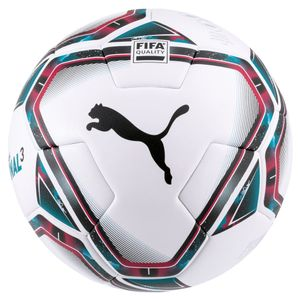 Puma Team Final 21.3 FIFA Quality Fußball Größe 5 weiß / schwarz