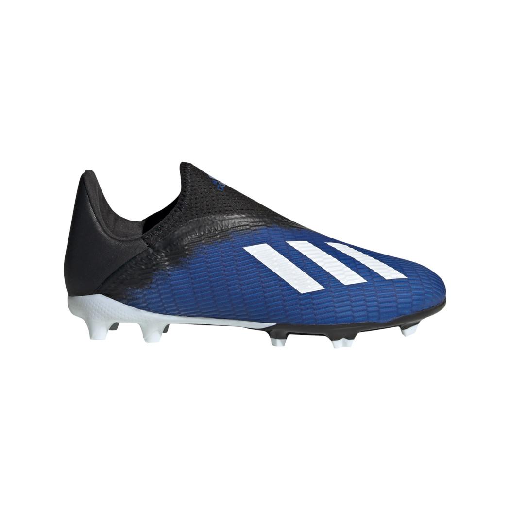 adidas Kinder X 19.3 FG Fußballschuhe blau schwarz