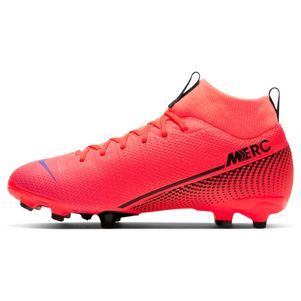 Nike Kinder Mercurial Superfly 7 Academy MG rot – Bild 2